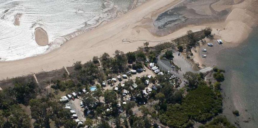Bucasia Beachfront Caravan Park location